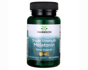 SWANSON MELATONINA TRIPLE STRENGTH LIBERACION CONTROLADA 10MG 60